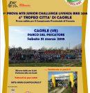 Al via la 4^ edizione del Trofeo MTB Junior Challenge Livenzabike