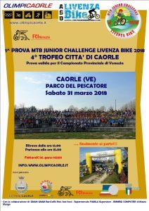 4° Trofeo Citta di Caorle - 1^ prova MTB Junior Challenge LivenzaBike @ Parco del Pescatore | Caorle | Veneto | Italia